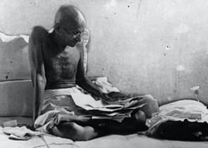 Ghandiji's fasting protest.jpg