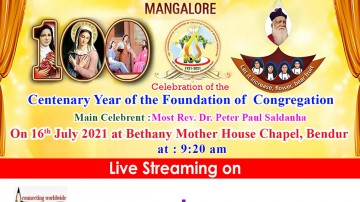 Centenary Year of the Foundation of Bethany Congregation
